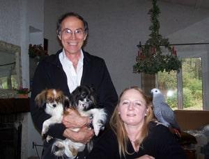 Maman, Serge, et mes deux copines Ulla, Twiggy : à l'aise